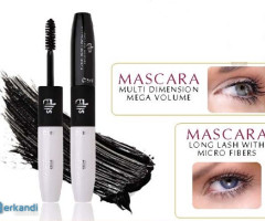 LONG LASH MASCARA WITH MICROFIBRES