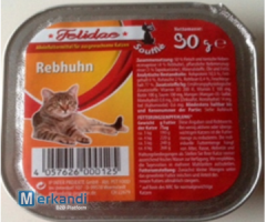 Felidae Rebhuhn Complete food for cats Soufle shell 90g with 50% meat