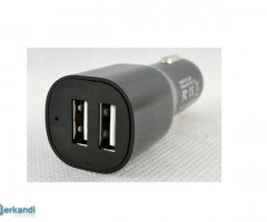 Plug car adapter 2.1A 2xUSB USB606