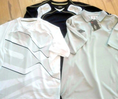 UMBRO t-shirts and shorts