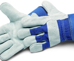 GLOVES, BLUE STAR
