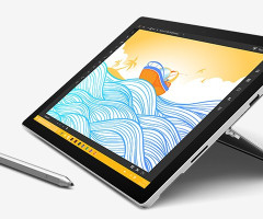 "Microsoft Surface PRO 4 Core™ i5-6300U 2.4GHz 128GB SSD 4GB 12.3"" (273"