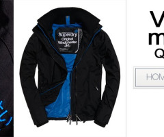 SUPERDRY vest jackets