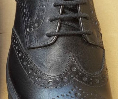 M&S Junior Brogue Shoes