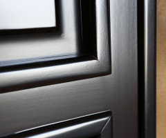 Interior doors of solid linden wood