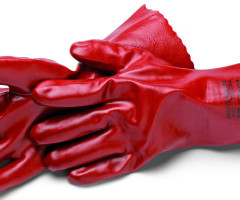 GLOVES, PVC LONG