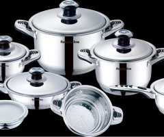Royalty Line 16 Pcs Stainless Steel Cookware set RL-16S
