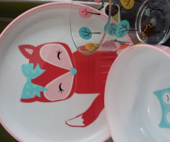 ---''Dinnerware 3pc sets''----$4.50 per set - brand ''Circo Targ*t''--