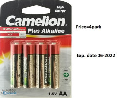 "Batteries ""Camelion Plus Alkaline"""