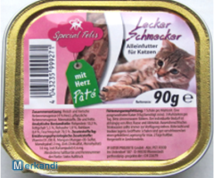 Special Felies complete feed for cat souffle with heart peel 90g