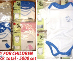Body for children- 3 pack - 5000 sets - 6 sizes