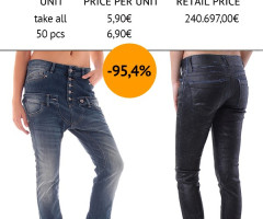 Women Stock Jeans Special Fall/Winter