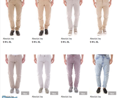 Stock Men's Pants Spring/Summer