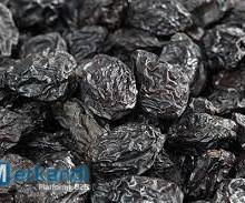 Prunes hydrated with or without bone.