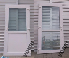 EXTERIOR DOORS PVC (to the shop, the office, the warehouse) ALUMINIUM