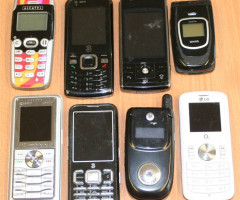 Alcatel, LG, Motorola, Samsung, Siemens mobile phones
