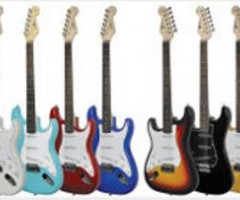 Brand new electric guitars