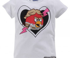 Angry Birds Shirt Girls Children's clothing