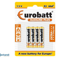 Batteries Alkaline Plus AAA LR03