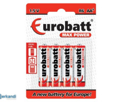 Batteries R6 AA Max Power