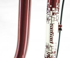 Pegas Bike : Street 2 3S , burgundy chic for women