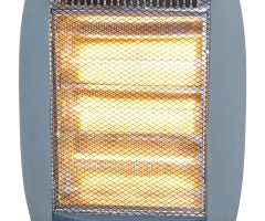 VHS-3162H Halogen heater with BS Plug & VDE Plug