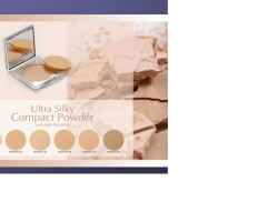 ULTA SILKY COMPACT POWDER WITH ANTY BACTERIA
