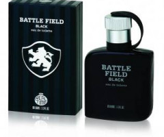 Agua perfumada Battle Field Black 100 ml - stock