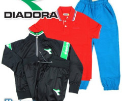 Wholesale of DIADORA clothes for children