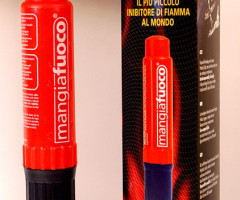 LIQUIDATION PORTABLE FIRE EXTINGUISHERS MANGIAFUOCO - BRAND NEW STOCK