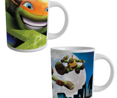 Box Ceramic Mug NINJA TURTLES 23cl - (2 Matching Models)