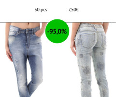 Stock Women's Jeans Samples Spring/Summer