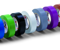 10 X VDE ELECTRICAL TAPE, MULTI
