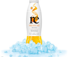 Re Fresh Me Orange Drink