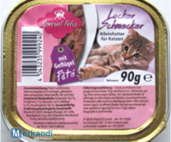Cat food : cat souffle with poultry shell 90g