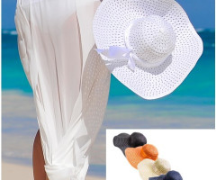 Hat straw hat summer cap COLORS