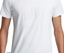 WHITE T-SHIRTS MEN WITH SHORT SLEEVE