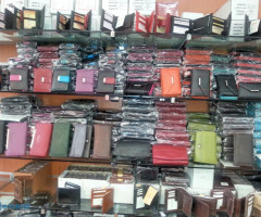 Real leather men and women purses per 9.95 EUR