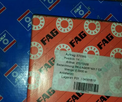 FAG and SKF bearings 9 EUR per kg — Stock of 900kg