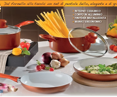 Cookware set with ceramic coating 6PZ