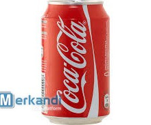 Coca Cola 0,33ml cans - wholesale