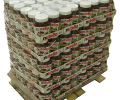 Pallets of Nutella Ferrero assorted packs