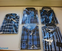 ShirtsLarge Stock of top quality shirts , Mix models and sizes .