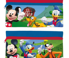School Kit Plate 21cm MICKEY - (2 Matching Models)