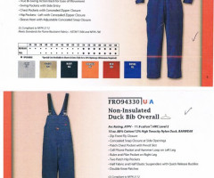 Work-Wear construction clothing -stock
