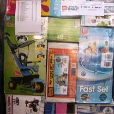 Barbie, CV, Disney, Ben 10, Fisher Price, Lego mixed pallets