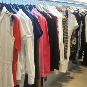 Stock clearance: branded clothing current season stock