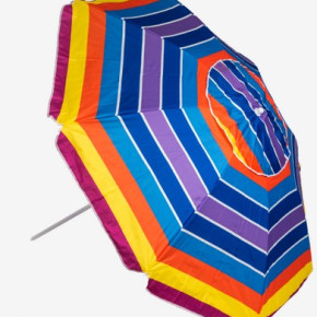 180cm Polyester Beach Umbrella
