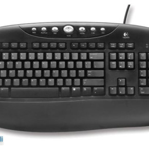 LOGITECH BLACK INTERNET PRO KEYBOARD FRENCH LAYOUT