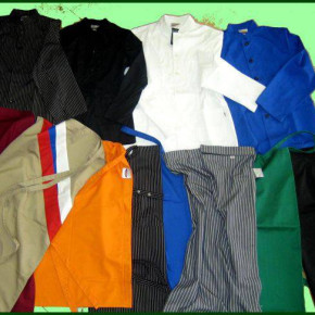 Chefs' , cooks' and kitchen workers' clothing